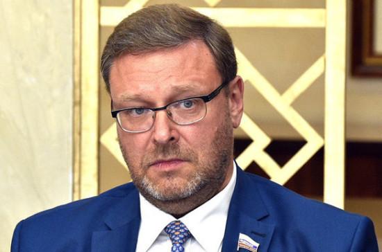 Косачев оценил идею Зеленского о референдуме по отношениям Киева и Москвы