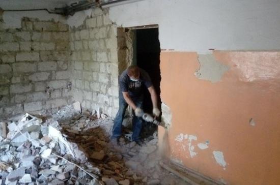 В Севастополе начали ремонт в двух поликлиниках
