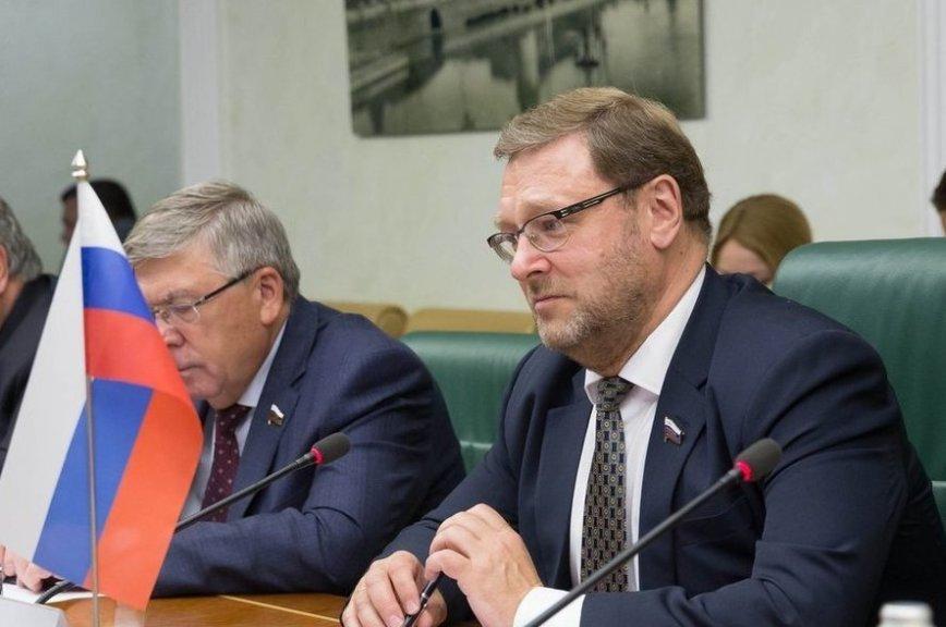 Косачев: отношения народов России и Республики Сербской характеризуются искренней дружбой