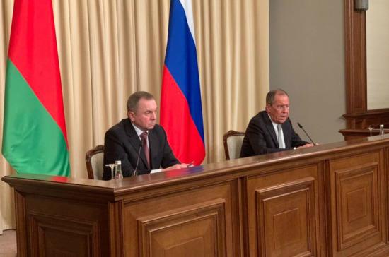 Белорусский МИД: договор о Союзном государстве России и Белоруссии не требует пересмотра