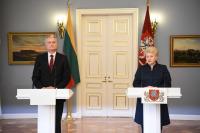 Даля Грибаускайте пообещала избранному президенту Литвы полную поддержку