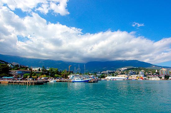Высокий курортный сезон в Крыму откроют 1 июня в Ялте