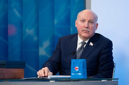 Полномочия сенатора Дмитрия Мезенцева досрочно прекращены
