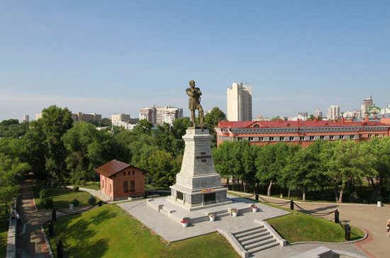 Первыми жителями Хабаровска были солдаты