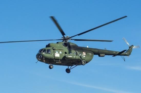 Военный вертолёт Ми-8 разбился в Ровенской области