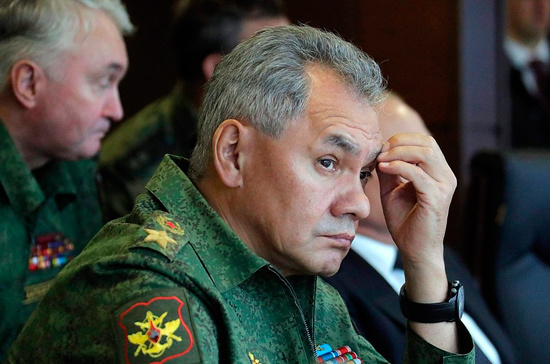 Шойгу сообщил о снижении в России числа аварий с военными самолётами