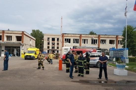 В Дзержинске и трёх ближайших посёлках ввели режим ЧС после взрывов на заводе