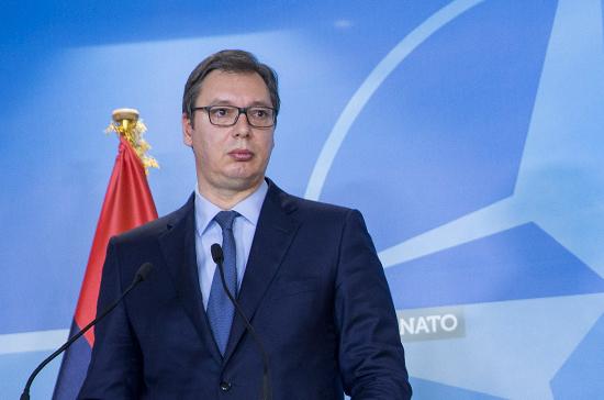 Вучич поблагодарил Россию за поддержку Сербии