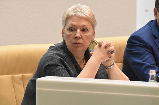 Васильева: все субсидии на 2019 год в рамках нацпроекта «Образование» направили в регионы