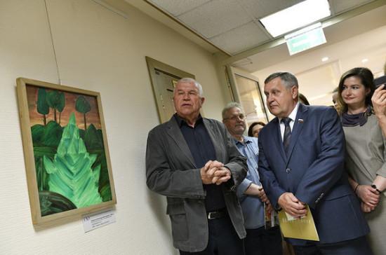 В Совете Федерации открылась выставка «Карельские мифы»