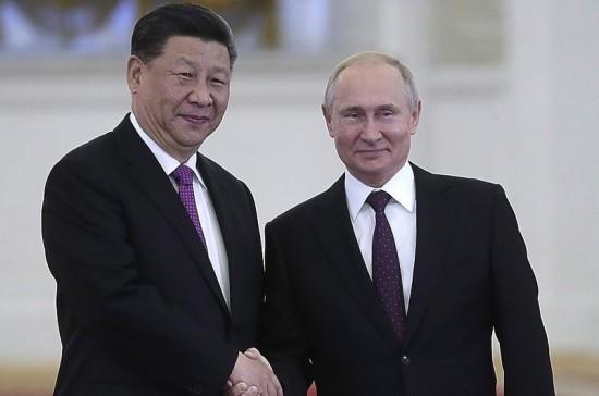 Путин: высокий уровень отношений России и Китая позволяет им эффективно сотрудничать