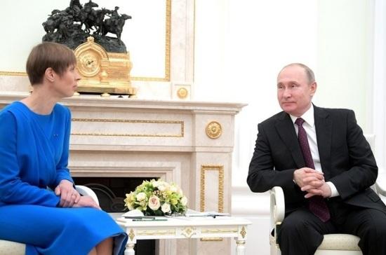 Встреча Путина и Кальюлайд поможет в заключении договоров, считает посол РФ