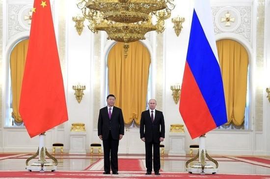 Путин и Си Цзиньпин приняли два совместных заявления