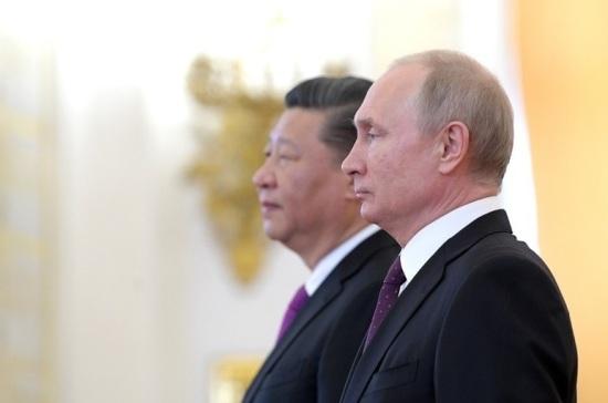 Путин заявил о близости позиций Москвы и Пекина по ключевым мировым проблемам