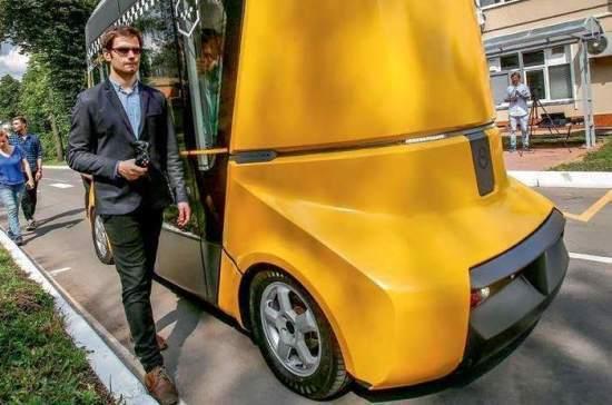 Через пять лет общественный транспорт могут заменить автономные шаттлы