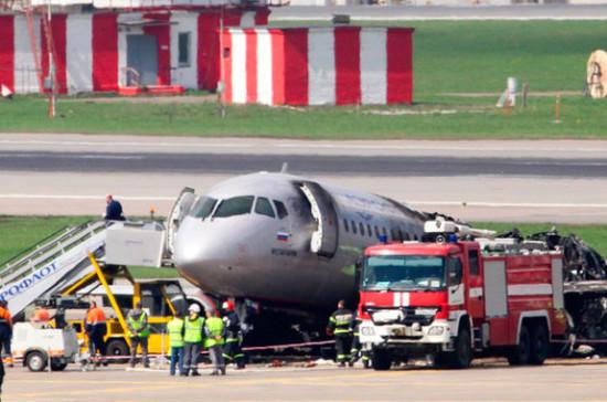 МАК реконструировал полёт сгоревшего SSJ-100