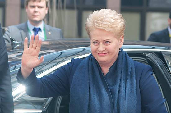 В Вильнюсе считают, что Грибаускайте может получить пост в руководстве ЕС