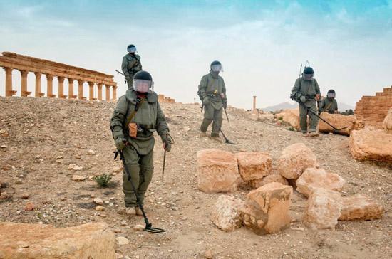 В Сирии заканчиваются съёмки фильма о боях за Пальмиру