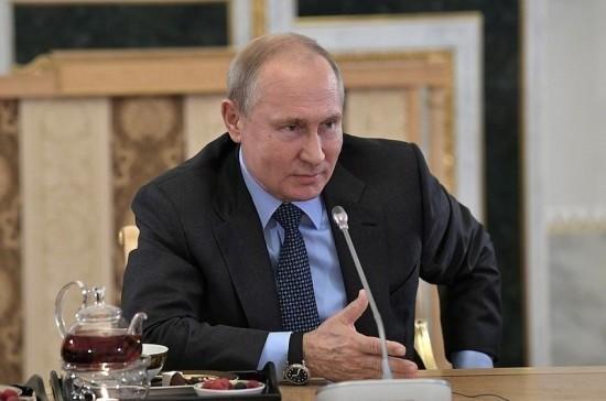 Путин рассказал, кого считает национальными героями России