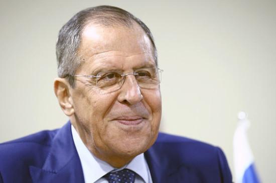 Лавров заявил о готовности России продолжать содействовать нормализации обстановки в ЦАР