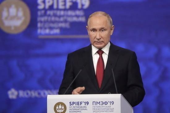 Путин: Россия заинтересована в расширении присутствия китайских компаний на отечественном рынке