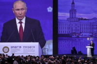 Путин: «Северный поток — 2» торпедируют страны, привыкшие не платить по счетам