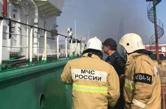 В порту Махачкалы прогремел взрыв на танкере
