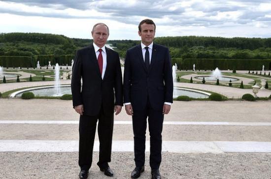 Путин и Макрон могут встретиться в ближайшее время, заявили в Елисейском дворце