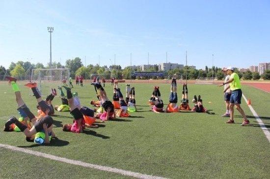 Летом в Краснодаре организуют бесплатные тренировки для детей