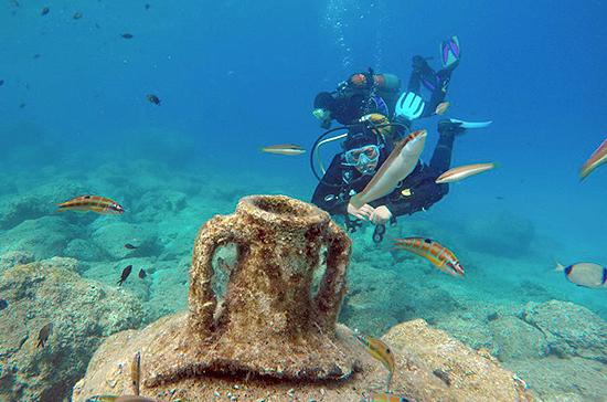 Охрану подводных памятников предложили передать регионам