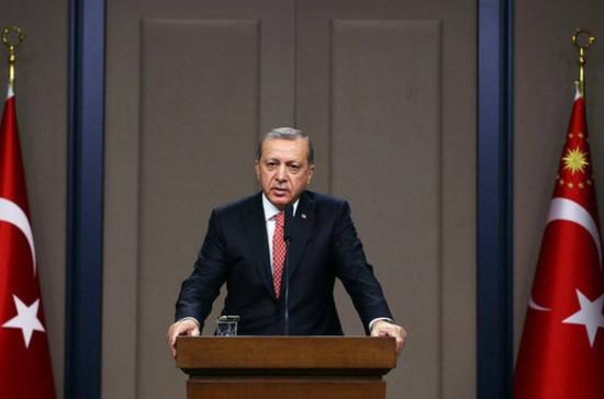 Поставка С-400 в Турцию может начаться в июле, заявил Эрдоган