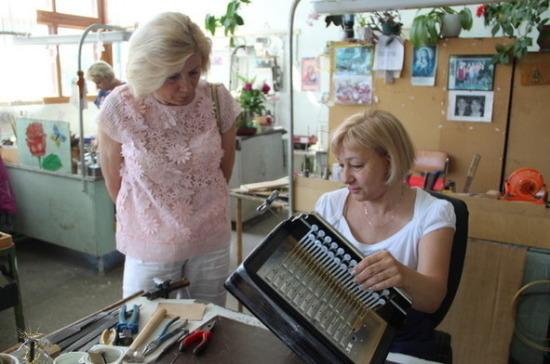Депутат Пилюс встретилась с коллективом предприятия «Тульская гармонь»