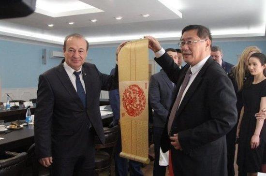 Тула заключила меморандум о дружеских отношениях с китайским городом Иньчуань