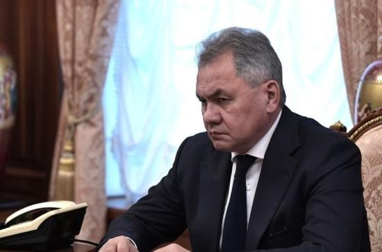 Шойгу и министр национальной обороны Турции обсудили ситуацию в Идлибе