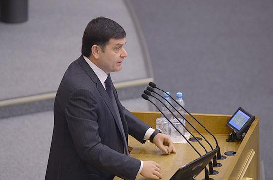 Шхагошев прокомментировал принятие Госдумой закона о приостановке участия России в ДРСМД