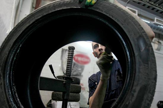 В России с 20 июня начнут эксперимент по маркировке шин