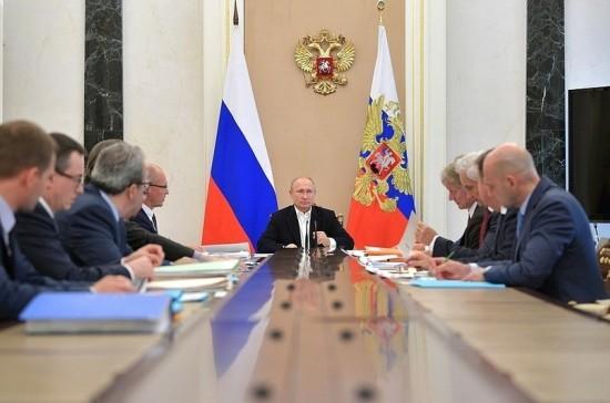 Путин провёл совещание по подготовке «Прямой линии»