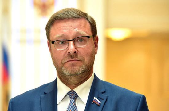 Косачев прокомментировал принятие Госдумой закона о приостановке ДРСМД