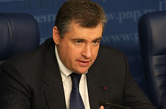 Слуцкий считает приостановку авиасообщения с Грузией адекватным ответом на провокацию