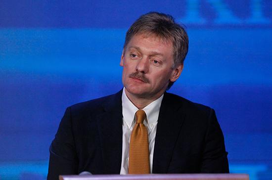 Песков назвал прекращение авиасообщения с Грузией вынужденной мерой