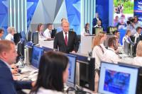 Песков назвал «Прямую линию» с президентом России уникальным проектом
