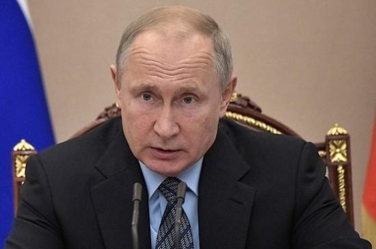 Путин заявил, что новые факторы, осложняющие работу с партнёрами по ВТС, требуют реагирования