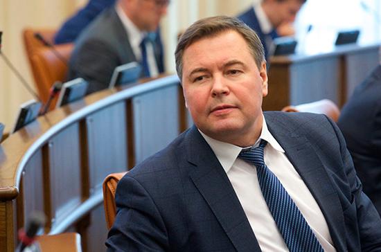 Свиридов попросил сенаторов о помощи в строительстве детской больницы в Красноярском крае