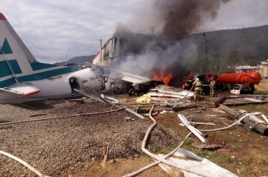 Пассажирка самолёта Aн-24 рассказала подробности аварийной посадки в Нижнеангарске