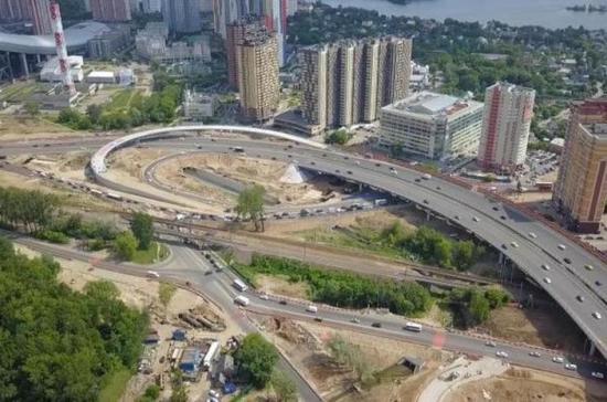 Автомобильную развязку в Красногорске достроят в сентябре