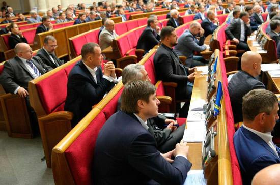 В Госдуме оценили мирный план депутатов Рады по Донбассу