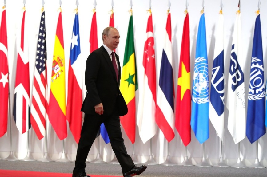 Песков объяснил, почему Путин пришёл на ужин «Большой двадцатки» с термосом