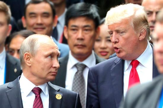 Лавров: Путин и Трамп обсудили вопросы стратегической стабильности, Сирию и Украину
