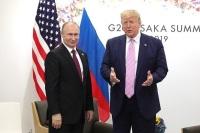 Путин и Трамп договорились о продолжении переговоров по контролю над вооружениями