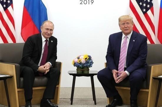 Песков: Трамп на встрече с Путиным впервые обозначил желание наладить диалог с Россией